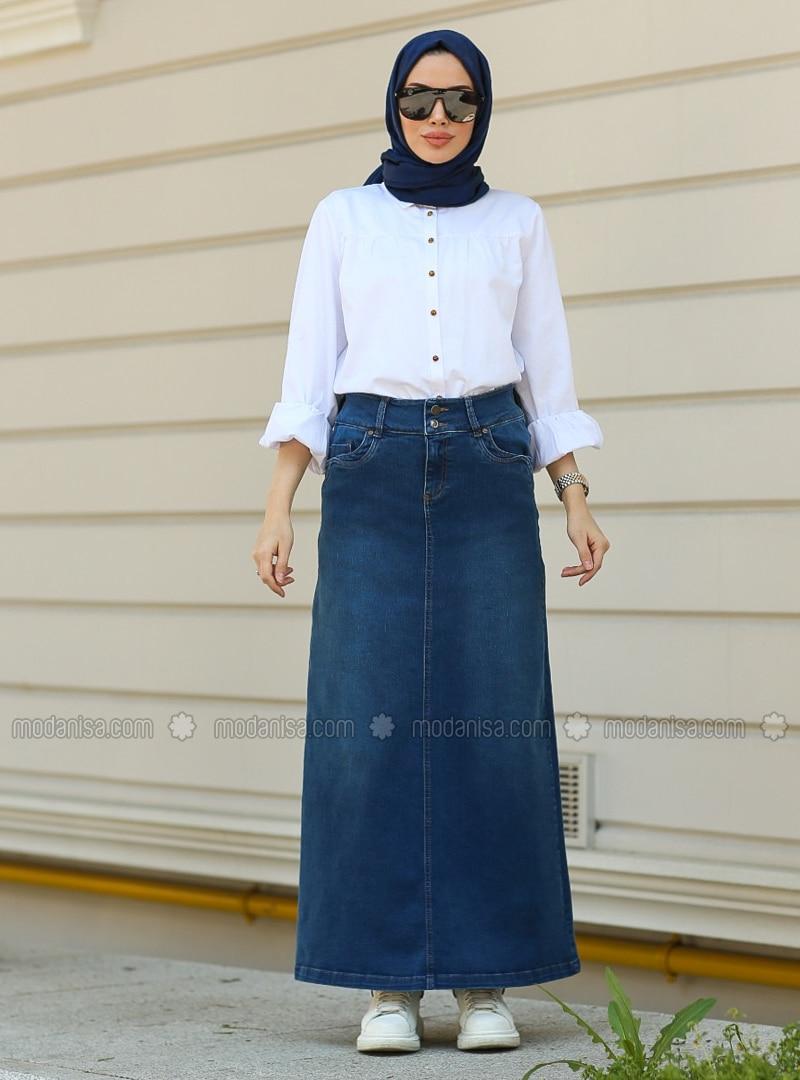 Dark Blue - Skirt