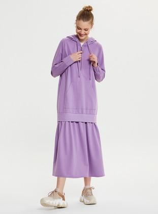 Lilac - Modest Dress