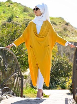 Yellow - Poncho - Henna Elısa