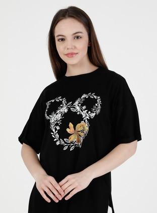 Black - T-Shirt - Bwest