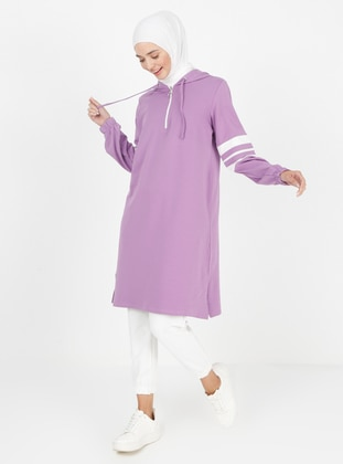 Purple - Tracksuit Top - Peker