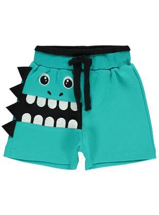 Green - Baby Shorts