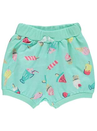 Green - Baby Shorts - Civil