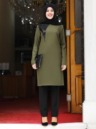 Khaki - Suit