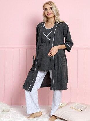 Anthracite - Maternity Pyjamas - Vienetta