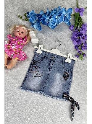 Blue - Girls` Skirt