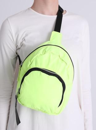 Yellow - Satchel - Shoulder Bags