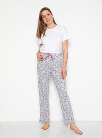 Gray - Multi - Pyjama