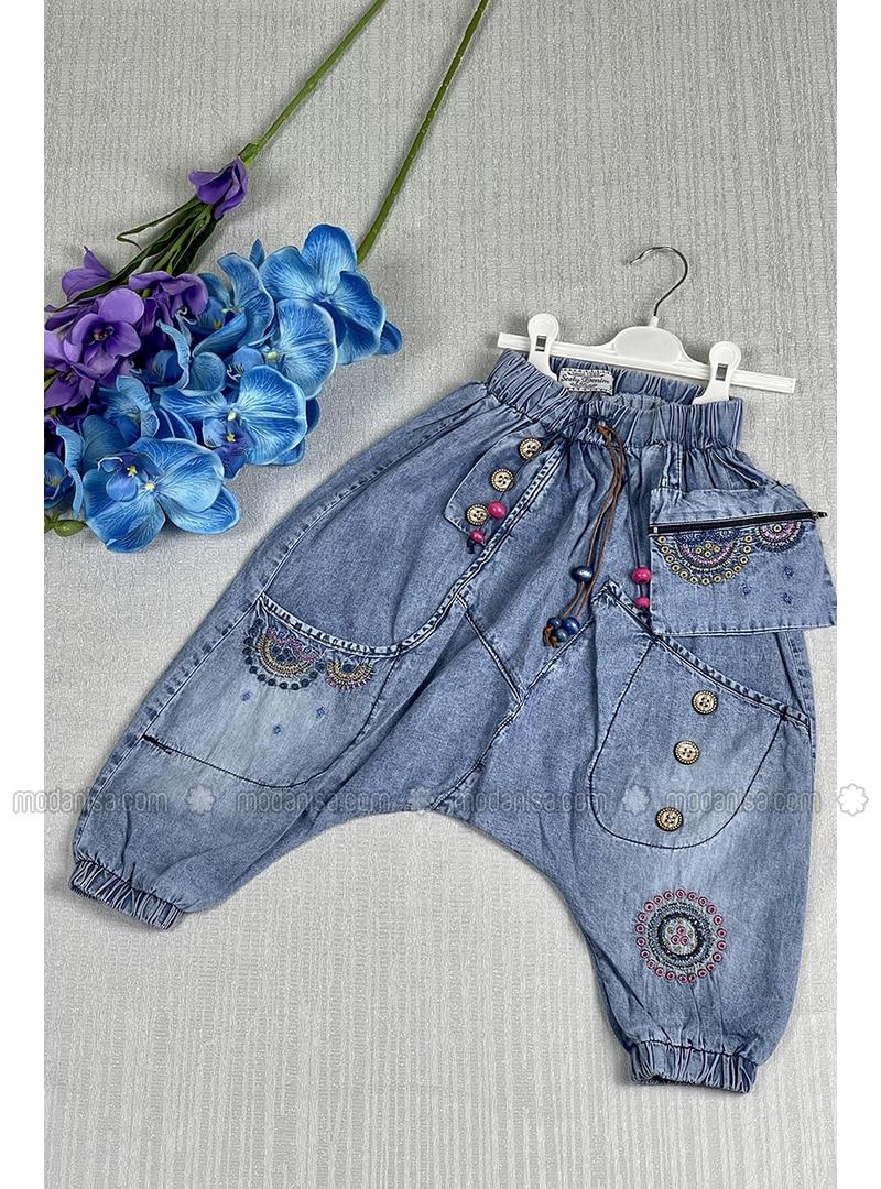 Blue - Girls` Salopettes & Jumpsuits
