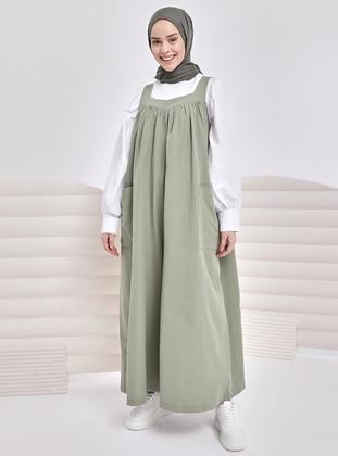 Green Almond - Modest Dress - İnşirah