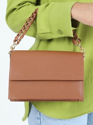 Crossbody - Satchel - Tan - Cross Bag