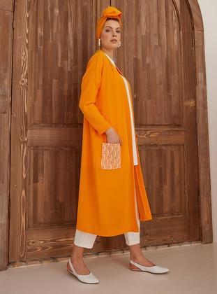 Orange - Unlined - Topcoat