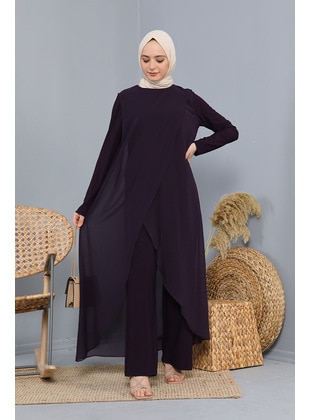 Purple - Modest Dress