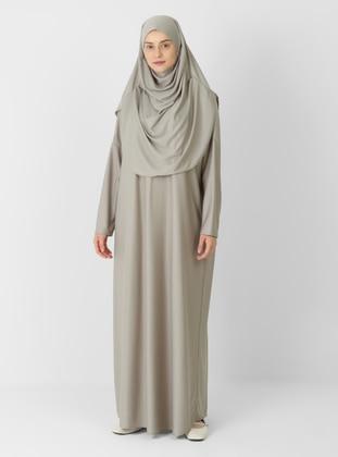 Beige - Unlined - Prayer Clothes - ECESUN