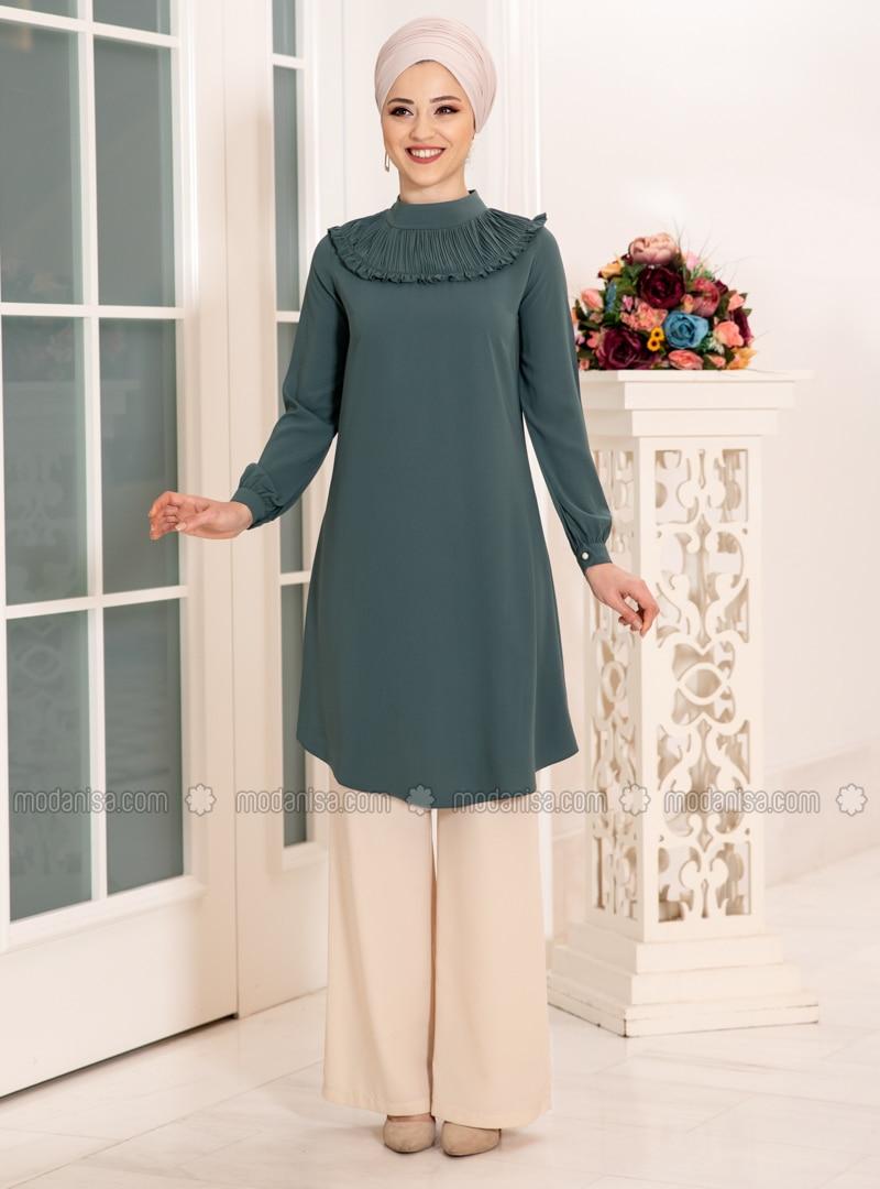 Emerald - Polo neck - Tunic