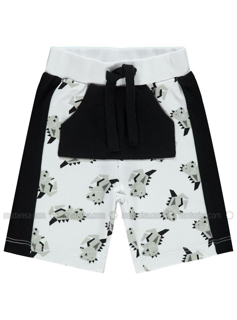 White - Baby Shorts