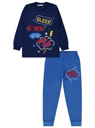 Navy Blue - Boys` Pyjamas - Civil