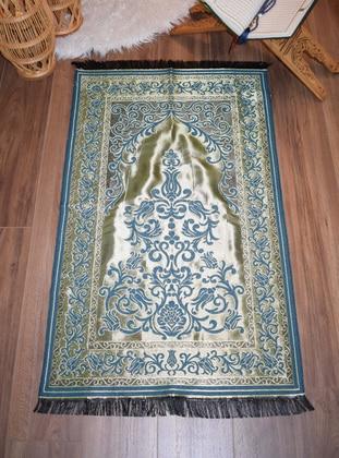 Gold - Blue - Prayer Rugs
