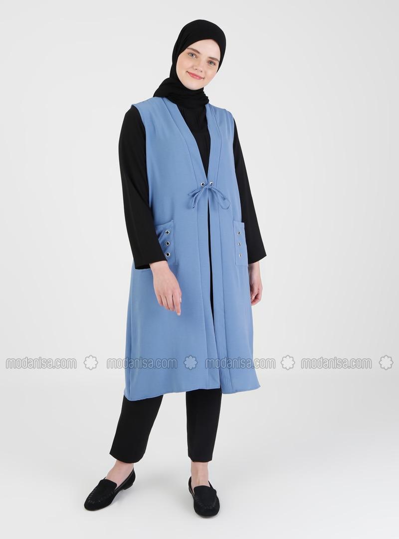 Indigo - Plus Size Vest