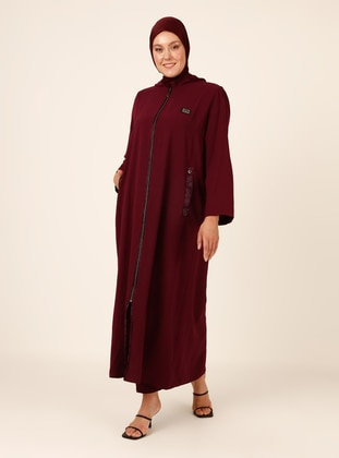 Cherry - Unlined - Plus Size Abaya