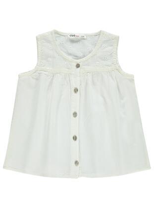 Ecru - Girls` Shirt