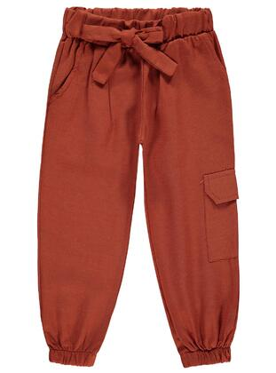 Terra Cotta - Girls` Pants