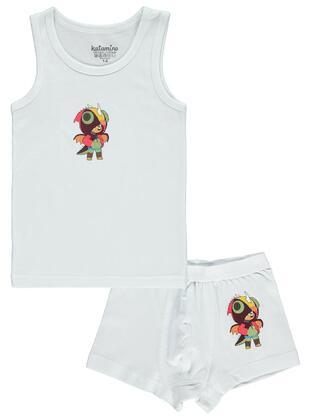 White - Kids Underwear - Civil