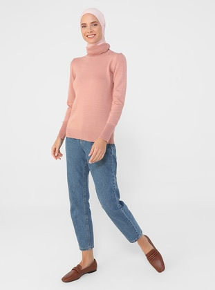 Rose - Polo neck - Unlined - Knit Tunics