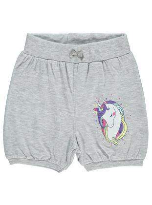 Gray - Girls` Shorts - Civil