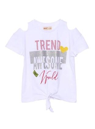 White - Girls` T-Shirt - Silversun