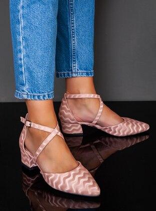 Powder - High Heel - Evening Shoes - Ayakkabı Havuzu