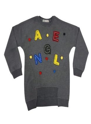 Antrasit Melanj - Girls` Sweatshirt