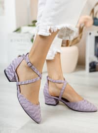 Lilac - High Heel - Evening Shoes