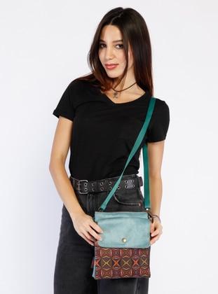 Turquoise - Crossbody - Satchel - Shoulder Bags