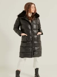 Black - Plus Size Coat