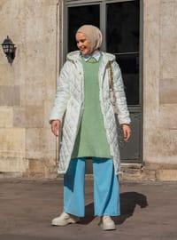 White - Fully Lined - Coat