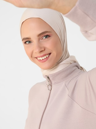 - Polo neck - Unlined - Modest Dress