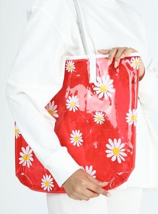 Satchel - Red - Beach Bags