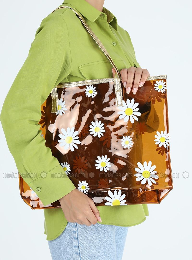 Satchel - Brown - Beach Bags