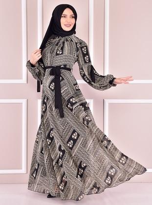 Black - Modest Dress