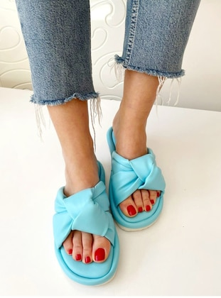 Turquoise - Sandal - Slippers