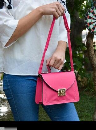 Fuchsia - Satchel - Shoulder Bags