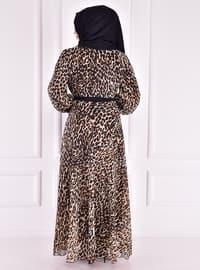 Leopard - Modest Dress