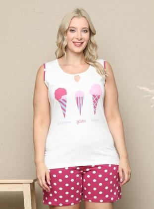 Multi - Multi - Plus Size Pyjamas