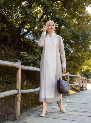 Mink - Knit Dresses - Tavin