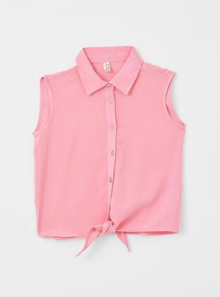Pink - Girls` Shirt - DeFacto