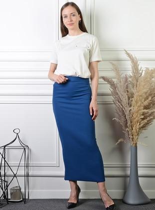Indigo - Unlined - Skirt
