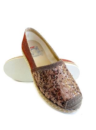 Casual - Copper - Silver tone - Casual Shoes