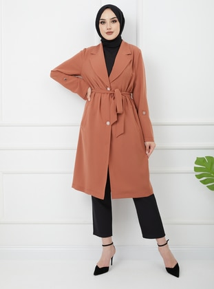 Cinnamon - Unlined - Shawl Collar - Jacket
