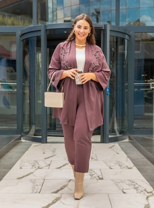 - Unlined - Plus Size Suit - Alia